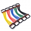拉力器弹性胶管料TPE 35~45A TPR拉力管料 拉力绳 高回弹 高韧性 修改
